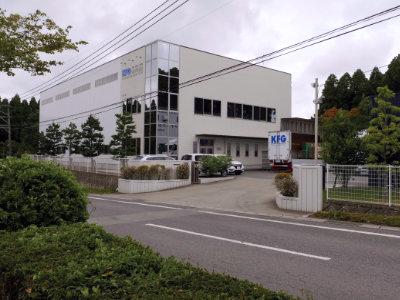九州工場の外観
