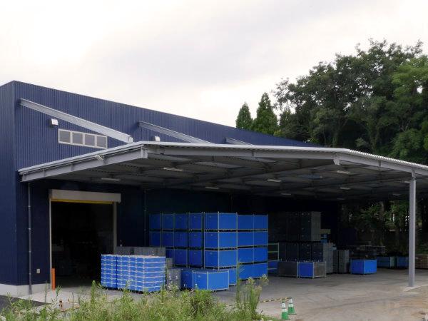 第二工場の外観